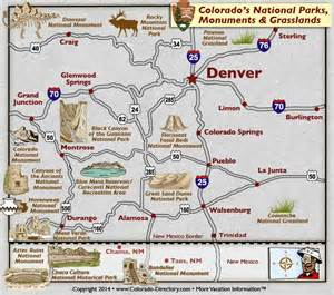 colorado national parks monuments grasslands map