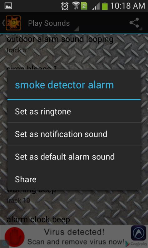 Set L Sound The Alarm 1 loud alarm clock sounds android apps on play