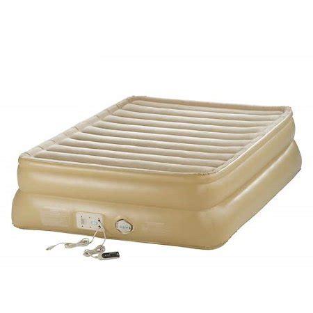 aerobed  raised  smart settings pump air bed full
