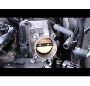 Throttle Body Cleaning  4 Cylinder Toyota Doovi