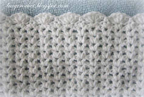crochet pattern v stitch baby blanket lacy crochet v stitch baby afghan with scalloped trim