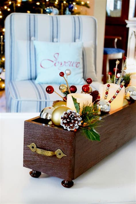 wooden christmas craft centerpieces diy wood centerpiece planter at the picket fence