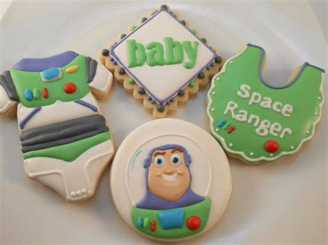 buzz light year cookies   baby shower