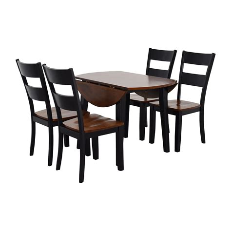 bobs furniture kitchen table set 45 off bob s furniture bob s furniture leaf folding
