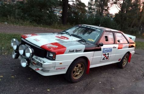 Audi Rally Car For Sale by Turbo Quattro Rally Car For Sale Audi Quattro 1983 For