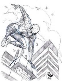 sketches spider man mike wieringo deantrippe
