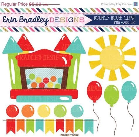 11 piece birthday party printable set instant download 18 best images about bounce house party on pinterest