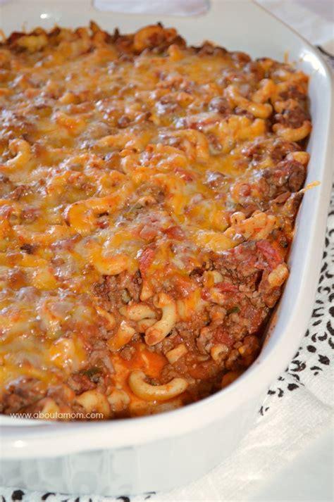 chili casserole chili mac casserole recipe about a
