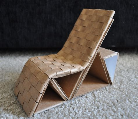 How To Make A Chair Out Of Cardboard by Cardboard Chair Danni Design