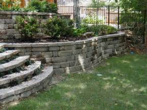 Retaining Wall Stairs Design Crabapple Landscapexperts How Crabapple Builds Your Retaining Wall