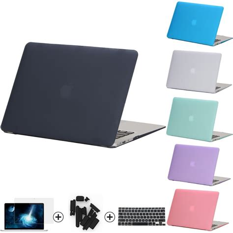 crystal clearmatte rubberized hard case cover  macbook