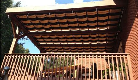 Roof L Shades by Pergola Sliding Shade Home Garden Design