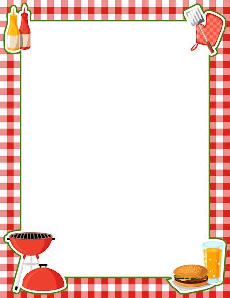 barbecue clipart free printable bbq border free gif jpg pdf and png