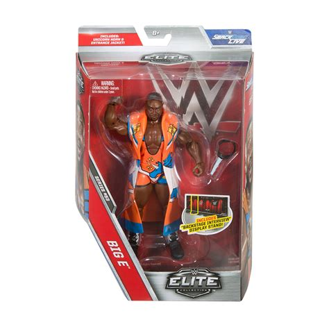 big w figures big e elite series 53 mattel figure us