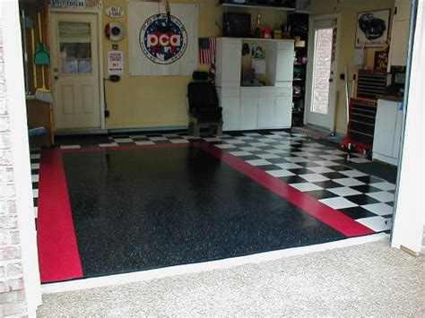 vinyl garage floor photos would i do my garage floor in vct vinyl composite tile again photo rennlist porsche
