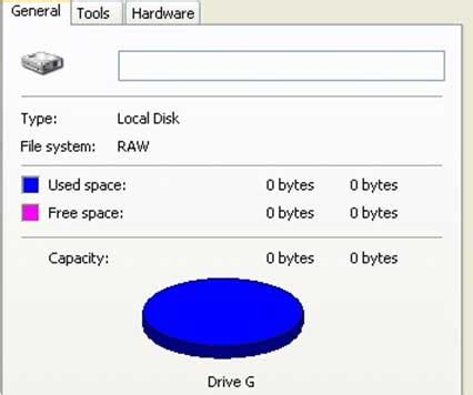 format hard disk raw repair raw disk and recover files with raw hard drive