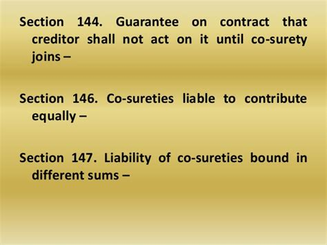 section 18 liability guarantee