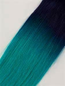 teal hair extensions dip dye green ombre indian remy hair extensions clip in cs026 vpfashion