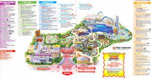 disneyland california adventure map of park best trend