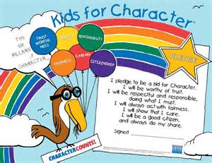 six pillars of character worksheets abitlikethis