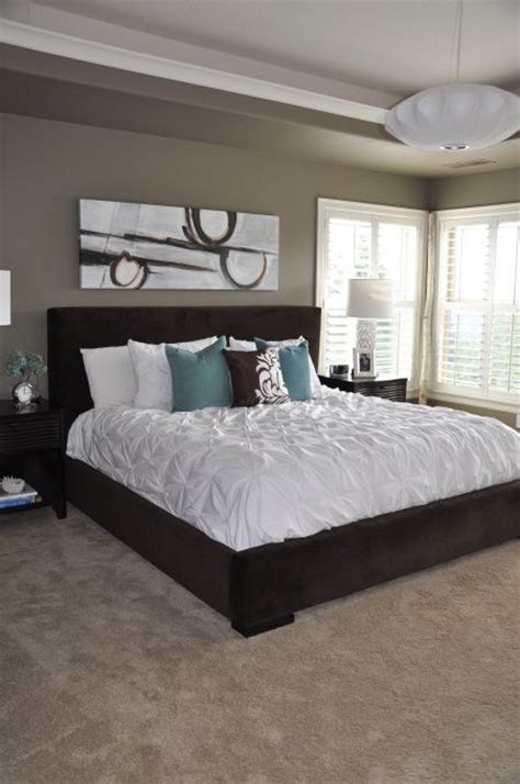 beige master bedroom teal and beige bedroom mocha accent by behr paint color