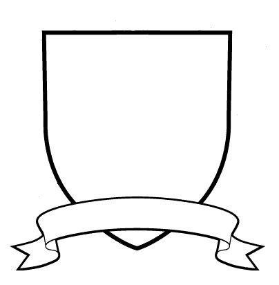 Blank Family Crest Clipart Best Crest Design Template