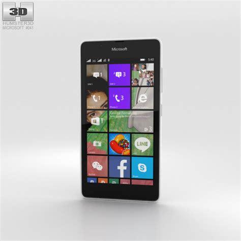 Microsoft Lumia 540 Di Malaysia microsoft lumia 540 white 3d model humster3d