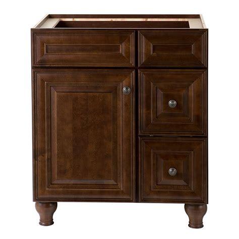 Home Decorators Vanity Home Decorators Collection Templin 30 In Vanity Cabinet In Coffee 19dvsdb30 The Home Depot