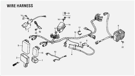 1990 honda 300 wiring diagram wiring diagram with