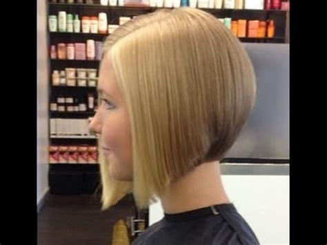makeover hair styles bob bangs hair makeover long to graduated bob haircut youtube