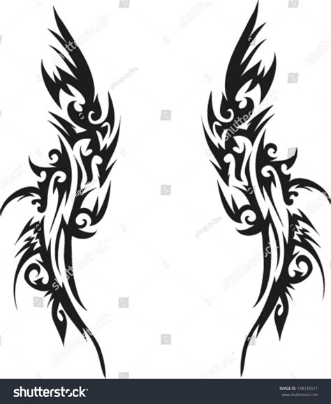 tattoo on arm vector tattoos arms shoulders stock vector 148135511 shutterstock