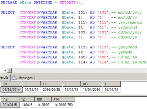 format date to string t sql convert datetime to date