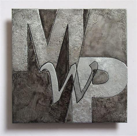 Custom Metal Letter Metal Letter By Copper Leaf Studios