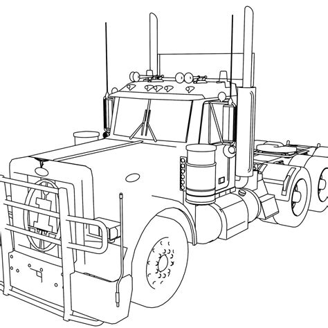 semi truck coloring pages semi truck coloring pages coloring pages for