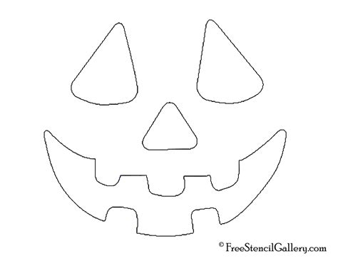 best photos of template of jack o lanterns face