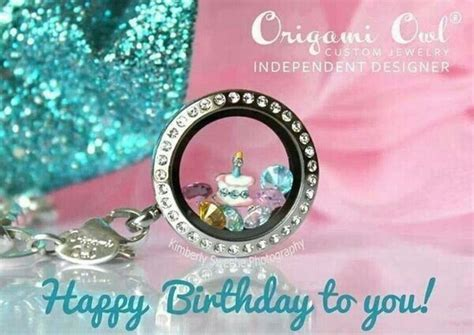 Origami Owl Birthday - origami owl birthday locket origami owl
