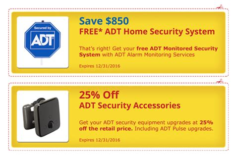 adt coupons and adt special offers