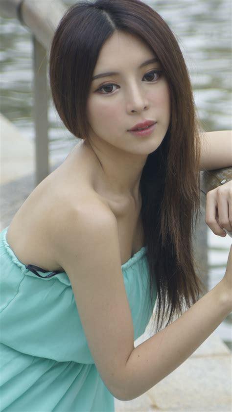 iPhone 6   Women/Zhang Qi Jun   Wallpaper ID: 642523