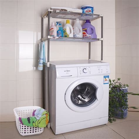 Washing Machine Shelf washing machine finishing rack shelf bathroom toilet frame