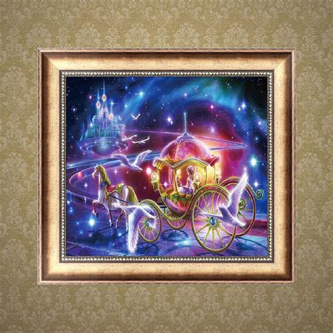 mosaic home decor carriage 5d diamond embroidery diy craft painting cross