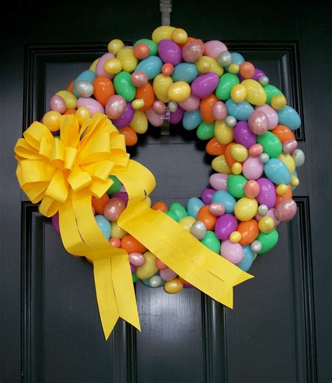Easter Wreath Ideas | dejavu crafts 12 super cute easter wreaths ideas
