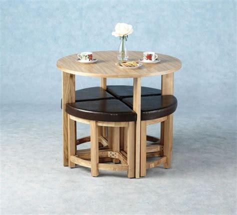 Bench Dining Room Table Set by 15 Practical Space Saving Table And Chair Ideas Small