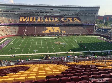 section 212 a 5 a tcf bank stadium section 212 rateyourseats com