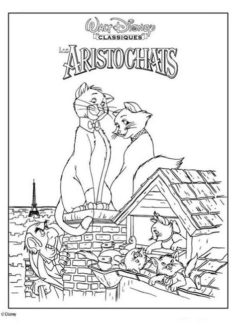 the aristocats coloring pages hellokids com