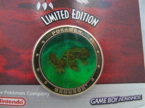 Asli Kailijumei Gold Limited Edition Promo ruby limited edition gold groudon coin nintendo promo merchandise