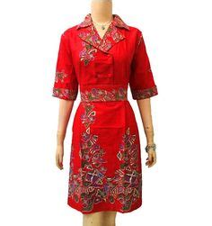 Dress Batik Wanita Dress Wanita Aulia Dress Kawung Soft 1000 images about dress batik on batik dress