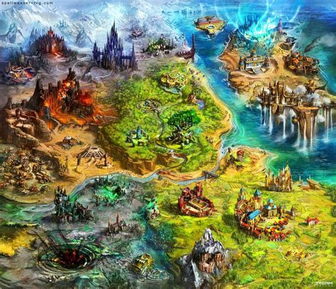Design Game World | asperia world map by tsabo6 create your own roleplaying