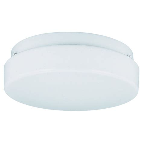 sea gull lighting 3 light white fluorescent ceiling