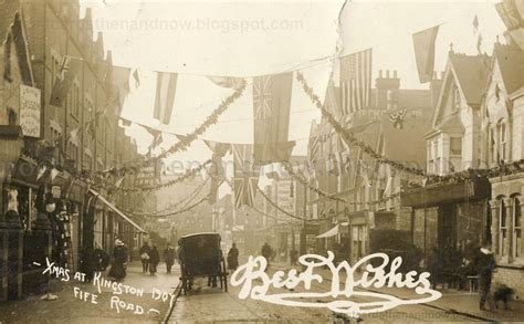 new year in kingston upon thames postcards then and now kingston upon thames surrey fife