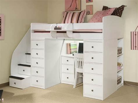white bunk beds with desk and drawers 25 awesome bunk beds with desks perfect for kids